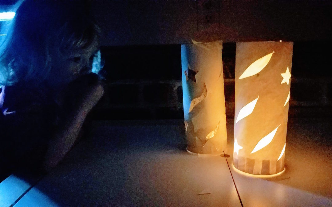 How to Make a Watercolor Paper Lantern